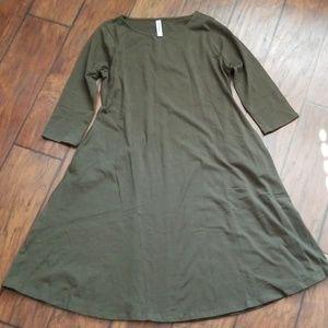 NWOT womens shift dress